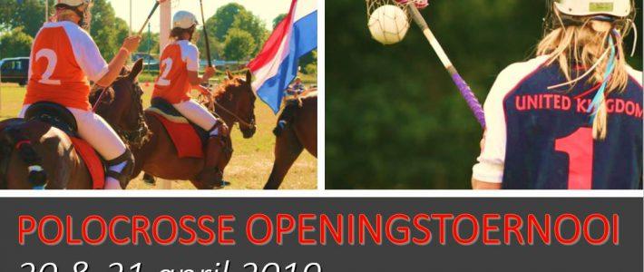 Het eerste toernooi komt er weer aan – 20 en 21 april in Otterlo